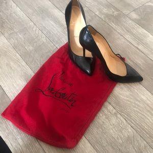 Christian Louboutin Pointed Toe Asymmetrical Heels